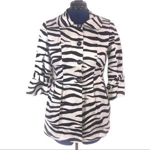 Heart Soul M zebra retro jacket